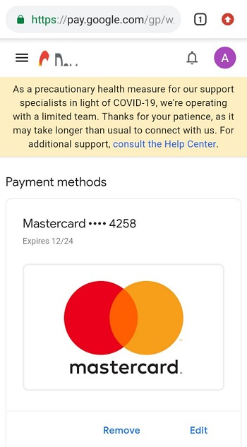 How to add fake MasterCard