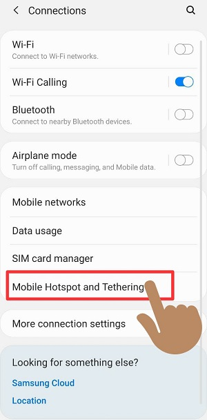 How to Hide Hotspot network