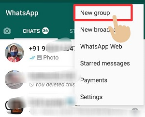 How to message yourself on whatsapp
