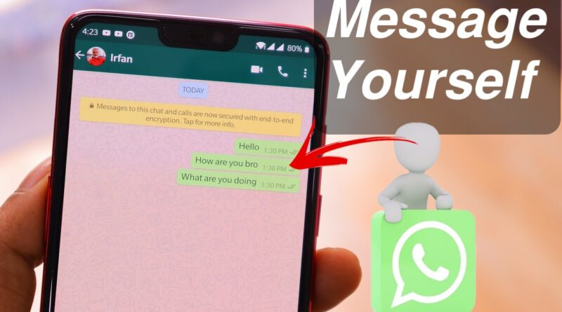 How to Message Yourself on WhatsApp – 3 Ways (2021)